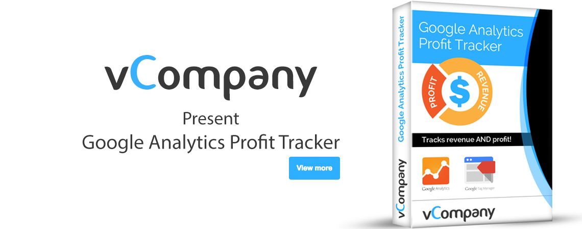 vCompany - Google Analytics Profit Tracker